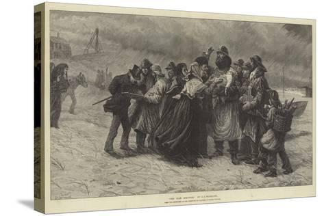 The Sole Survivor-Charles Joseph Staniland-Stretched Canvas Print
