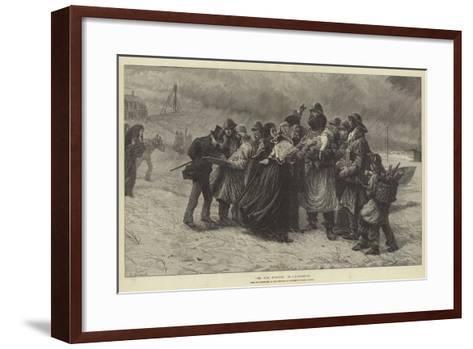 The Sole Survivor-Charles Joseph Staniland-Framed Art Print