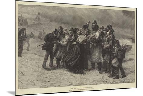 The Sole Survivor-Charles Joseph Staniland-Mounted Giclee Print