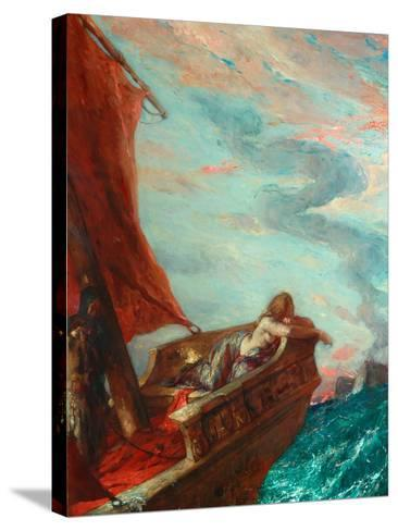 Cleopatra in Flight-Charles Ricketts-Stretched Canvas Print