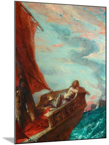 Cleopatra in Flight-Charles Ricketts-Mounted Giclee Print