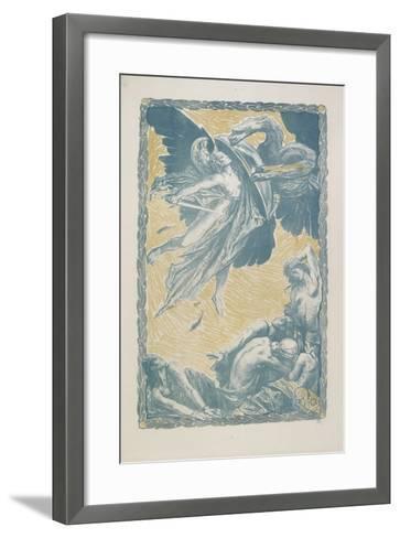 Italia Redenta, 1917-Charles Ricketts-Framed Art Print