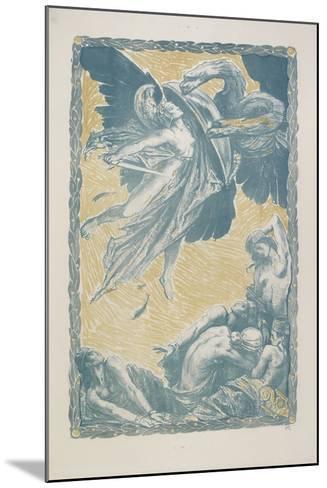 Italia Redenta, 1917-Charles Ricketts-Mounted Giclee Print