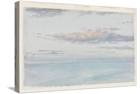 Cloud Study-Charles James Spence-Stretched Canvas Print