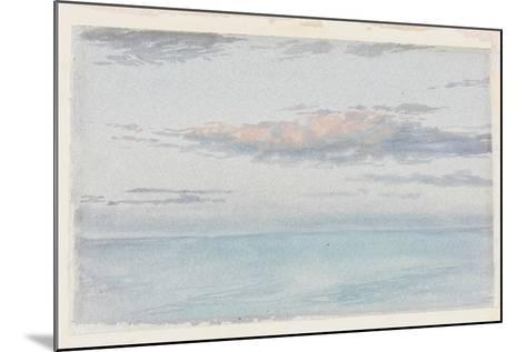 Cloud Study-Charles James Spence-Mounted Giclee Print