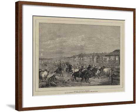 Roman Cattle Market-Charles H. Poingdestre-Framed Art Print