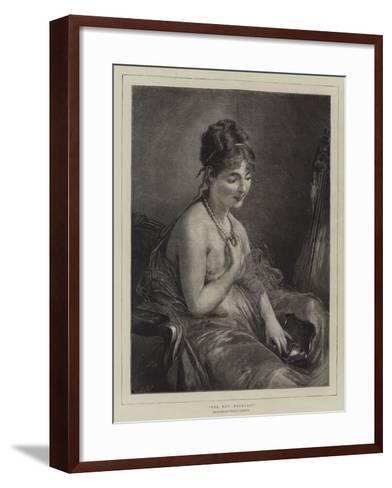 The New Necklace-Charles Joshua Chaplin-Framed Art Print