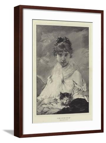Jeunesse-Charles Joshua Chaplin-Framed Art Print