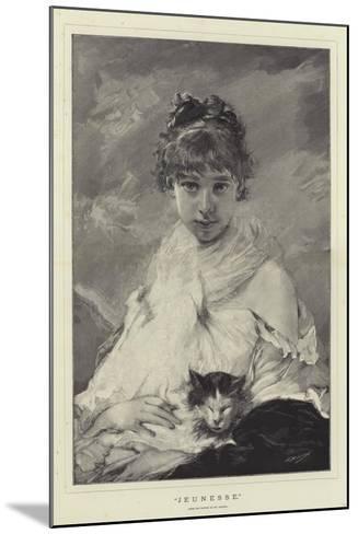 Jeunesse-Charles Joshua Chaplin-Mounted Giclee Print
