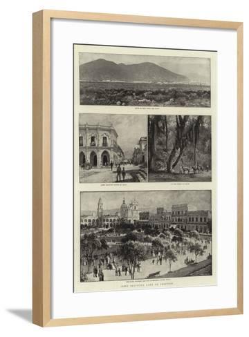 Jabez Balfour's Land of Adoption-Charles Joseph Staniland-Framed Art Print