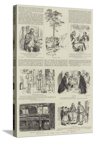 Drawings by the Late Charles Keene-Charles Keene-Stretched Canvas Print