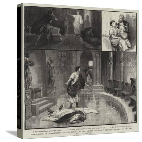 Performance of Shakespeare's Julius Caesar by the Oxford University Dramatic Society-Charles Joseph Staniland-Stretched Canvas Print