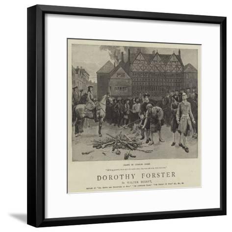 Dorothy Forster-Charles Green-Framed Art Print