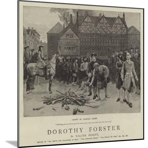Dorothy Forster-Charles Green-Mounted Giclee Print