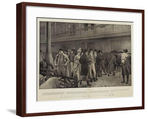 The Centenary of the Smithfield Club Cattle Show, 1798-1897-Charles Green-Framed Art Print