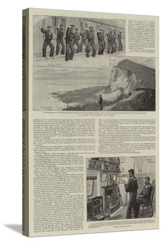Our Coastguard-Charles Joseph Staniland-Stretched Canvas Print