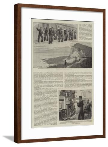 Our Coastguard-Charles Joseph Staniland-Framed Art Print