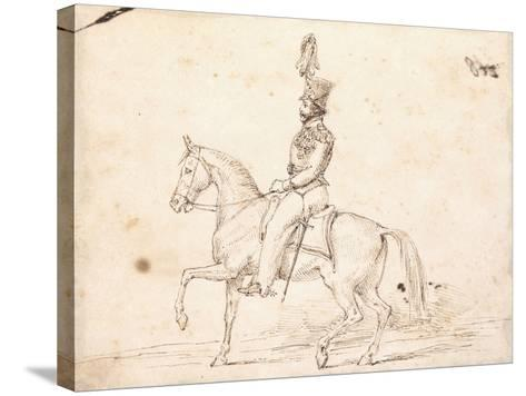 Emperor Pedro 1St, C. 1825-6-Charles Landseer-Stretched Canvas Print
