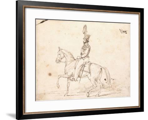Emperor Pedro 1St, C. 1825-6-Charles Landseer-Framed Art Print