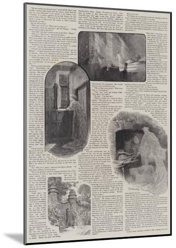How We Discovered a Haunted House-Charles Joseph Staniland-Mounted Giclee Print