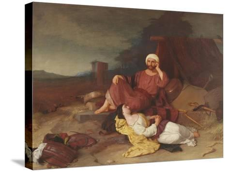 Boaz and Ruth, C.1853-Charles Lock Eastlake-Stretched Canvas Print