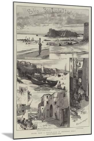Notes from a Sketch-Book in Southern Italy-Charles William Wyllie-Mounted Giclee Print