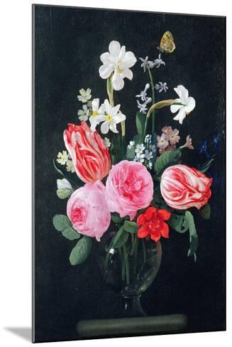 Roses, Narcissi, Tulips and Other Flowers-Christiaan Luykx-Mounted Giclee Print