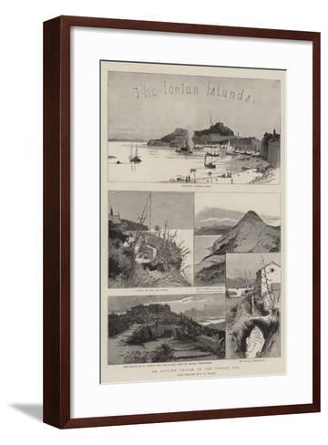 The Ionian Islands-Charles William Wyllie-Framed Art Print