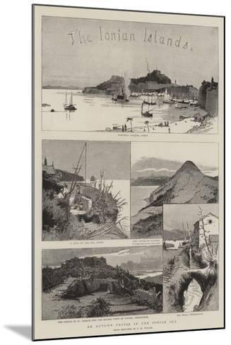 The Ionian Islands-Charles William Wyllie-Mounted Giclee Print