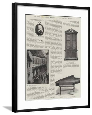 The Triennial Handel Festival at the Crystal Palace-Christian Friedrich Zincke-Framed Art Print