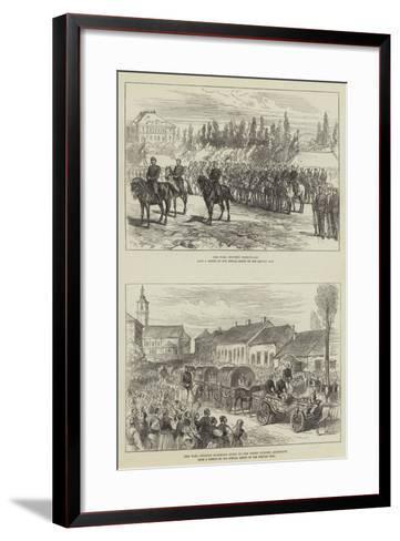 Russo-Turkish War-Charles Robinson-Framed Art Print
