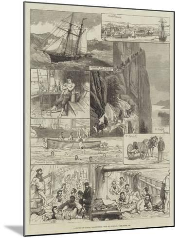 A Cruise of Naval Volunteers, Trip to Norway-Charles Robinson-Mounted Giclee Print