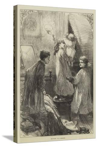 The Waits-Charles Robinson-Stretched Canvas Print