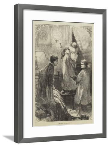The Waits-Charles Robinson-Framed Art Print