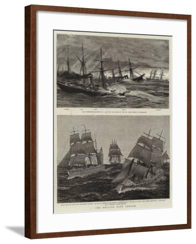 The British Navy Abroad-Charles William Wyllie-Framed Art Print
