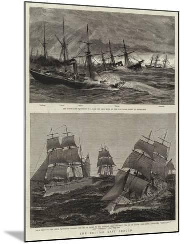 The British Navy Abroad-Charles William Wyllie-Mounted Giclee Print