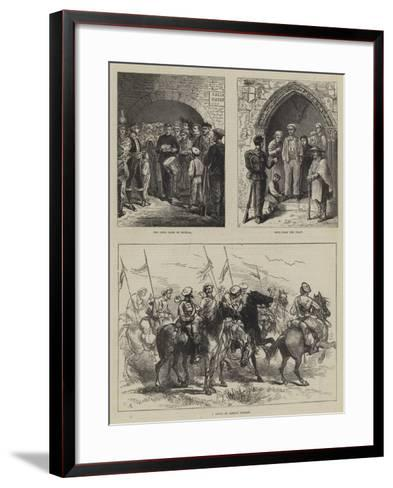 The Civil War in Spain-Charles Robinson-Framed Art Print