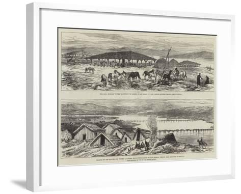 Russo Turkish War-Charles Robinson-Framed Art Print