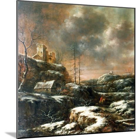 Winter Scene-Claes Molenaer-Mounted Giclee Print
