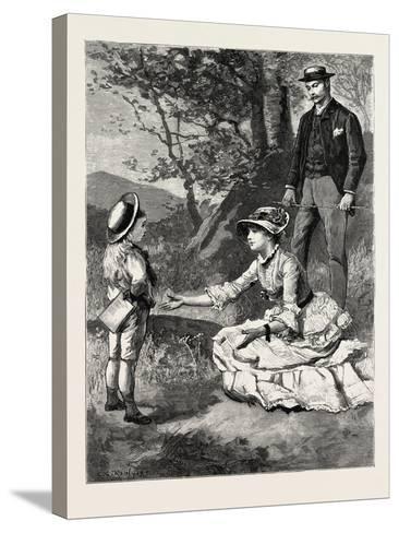 First Person Singular-Charles Stanley Reinhart-Stretched Canvas Print