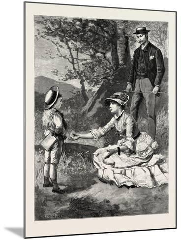 First Person Singular-Charles Stanley Reinhart-Mounted Giclee Print