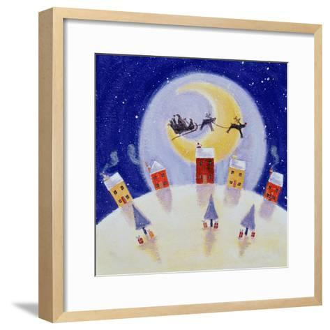 By the Light of the Moon, 2001-Clare Alderson-Framed Art Print