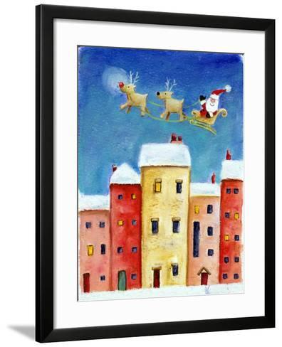 Over the Town, 2002-Clare Alderson-Framed Art Print