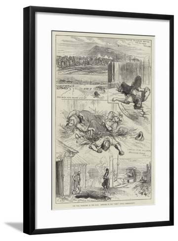 The War, Massacres at Yeni Zara-Charles Robinson-Framed Art Print