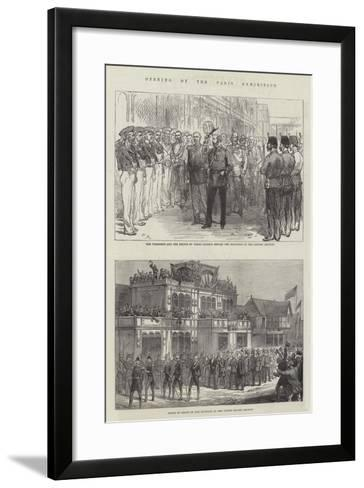 Opening of the Paris Exhibition-Charles Robinson-Framed Art Print