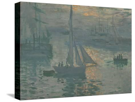 Sunrise (Marine), 1873-Claude Monet-Stretched Canvas Print