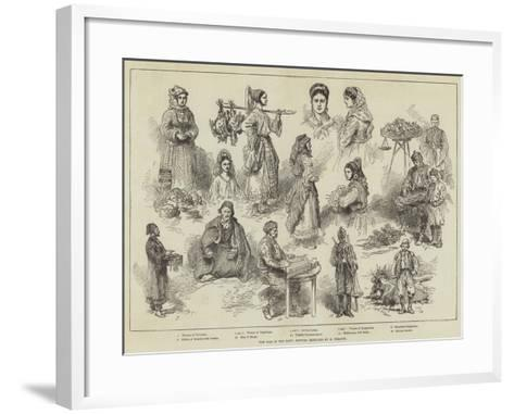 The War in the East, Servian Sketches-Charles Yriarte-Framed Art Print