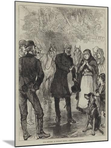 Irish Sketches, an Itinerant Orator, a Sketch Near Killarney-Charles Robinson-Mounted Giclee Print