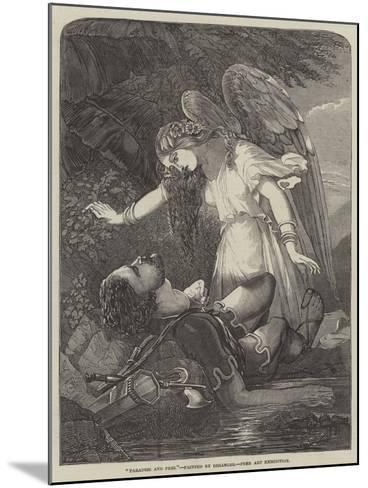 Paradise and Perl-Chevalier Louis-William Desanges-Mounted Giclee Print