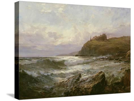 Tantallon Castle, East Lothian, C.1876-Claude Hayes-Stretched Canvas Print